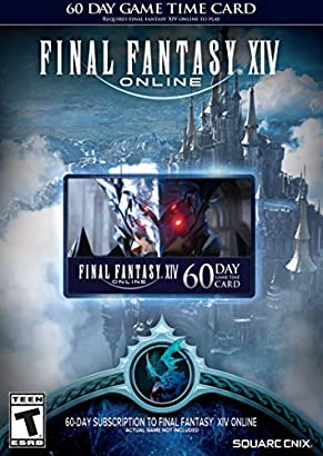 Final Fantasy XIV Online: 60 Day Time Card [Online Game Code