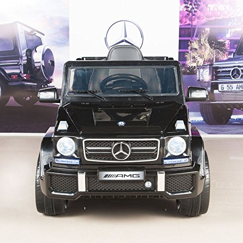 mercedes benz g63 12v electric power ride on kids toy car truck w parent remote little kid cars