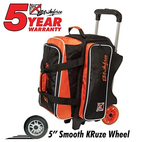 kr-orange-krush-double-deluxe-roller-bowling-bag-by-kr-strikeforce-bowling-bags