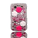 Rhinestone Diamante Bling Crystal Back Case Cover For BlackBerry Bold 9780by Give Me A Chance