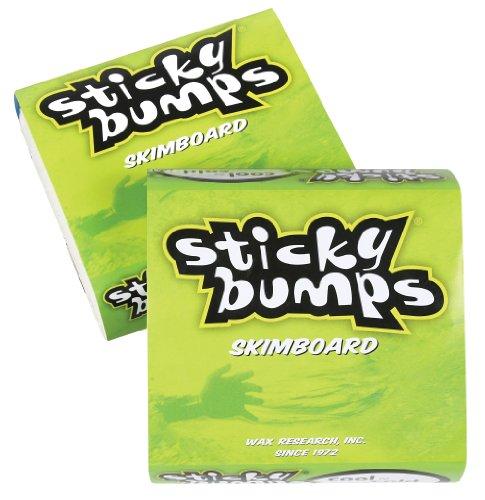 Sticky Bumps Cool/freddo Tavola da skimboard Wax (confezione da 3), colore: bianco