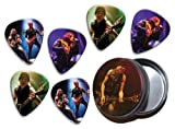 Michael Schenker's Temple of Rock (DW) 6 X Live Performance Guitar Picks in Tin