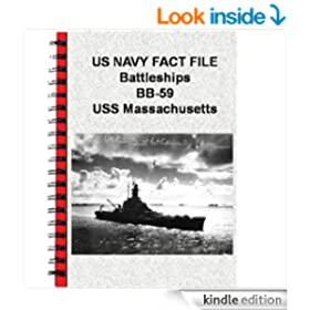 US NAVY FACT FILE Battleships BB-59 USS Massachusetts