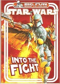 """Star Wars Super Book to Color """"Into the Fight"""""""
