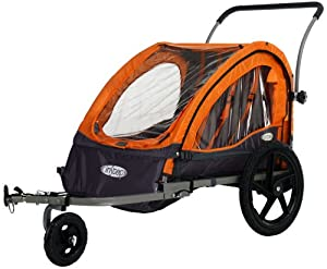 InStep Quick N EZ Bicycle Trailer (Orange/Gray)