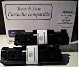 Pack 2 Unidades HP Reciclado CE285A compatible cartucho de tóner láser (Negro) para impresoras HP LaserJet PRO M1132mfp, M1212nf, P1100, P1102, P1102w Producto Reciclado en España