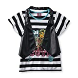 Monster High Girl's Layered-Look Top Multi-Color Size 7/8