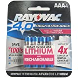 Rayovac 4.0 AAA 4-PACK,   (Pack of 2)