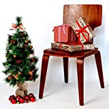 Urban 32 Pre-lit Christmas Tree with Decorations and 20 Battery Operated Color Changing LED Fiber Lights