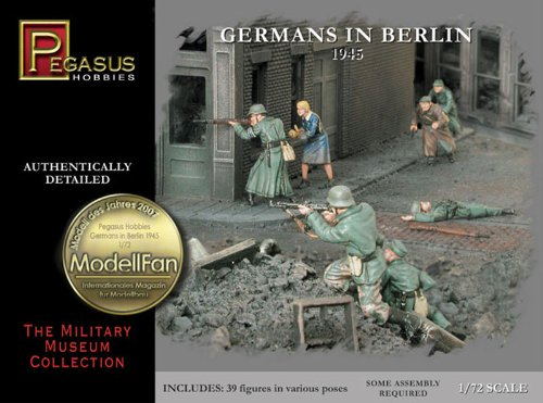 Pegasus Hobbies 1/72 Germans in Berlin 1945 PGH7228 - 1