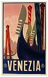 Venice [Venezia] ... Large Vintage Travel Poster