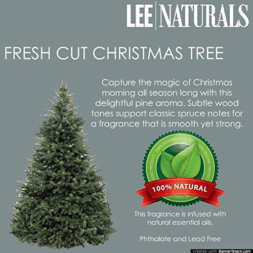 Fresh Cut Christmas Tree Premium 6-Piece 6.4 Oz Soy Wax Melt Clamshell - 2-Pack Of Naturally Strong Scented Soy Wax Cubes Throw 50+ Hours Of Fragrance When Melted In Scentsy®, Yankee Candle® Or Standard Electric Tart Warmer + Free Express Shipping!