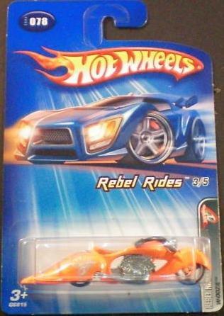 "Hot Wheels W-oozie ""Rebel Rides"" #78 (2005) - 1"