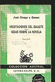 img - for Meditaciones del Quijote ideas sobre la novela book / textbook / text book