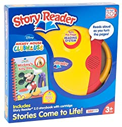 Story Reader 2.0 and Disney Mickey Mouse Clubhouse Storybook