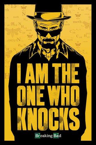 """Empire Merchandising GmbH - Poster con accessori, tema: Breaking Bad  """"I Am The One Who Knocks"""" multicolore"""