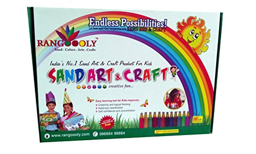 Rangoooly Sand Arts Craft Kit Price In India Buy Rangoooly Sand