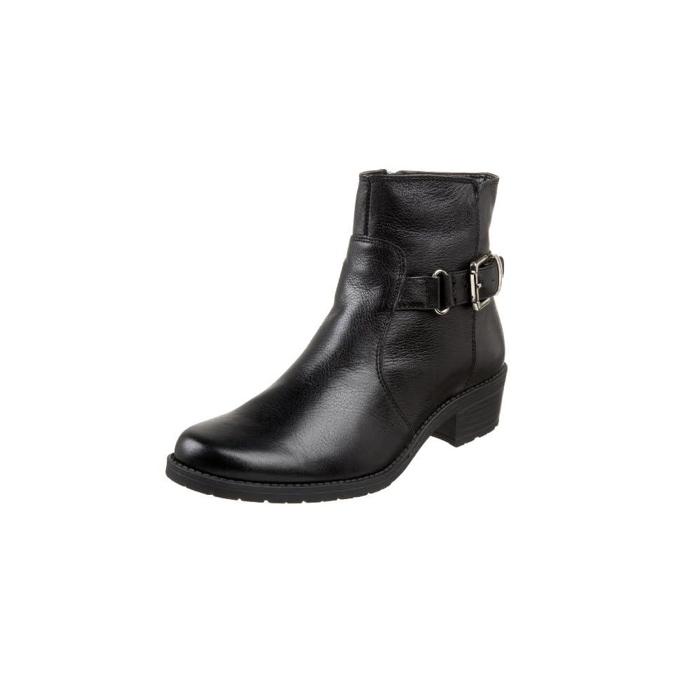 AK Anne Klein Womens Liana Ankle Boot,Black,5 M US