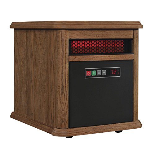 B00K172QS6 Duraflame 9HM9126-O142 Portable Electric Infrared Quartz Heater, Oak