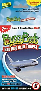 For Travel-Bed Bug Glue Traps Detect, Capture and Cage until Dead by SAS Maintenance Services, Inc.