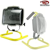 Tooluxe 40279L 130-LED Rechargeable Cordless Work Light with Stand