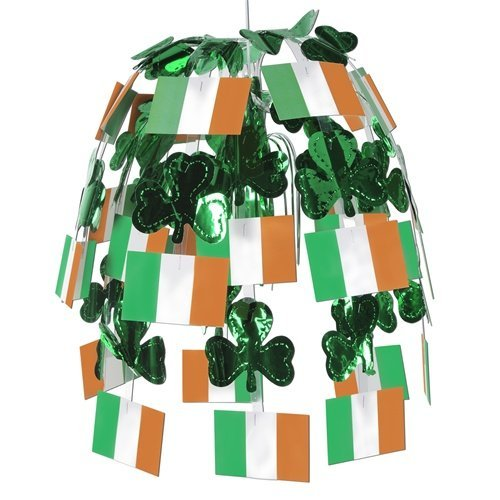 Irish Flag Cascade Party Accessory (1 count) (1/Pkg)