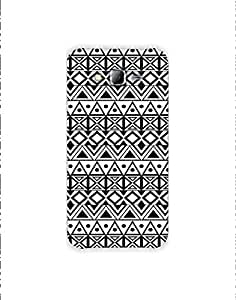 Samsung Galaxy Grand Prime Ethnic-monochrome-pattern-01 Mobile Case (Limited Time Offers,Please Check the Details Below)