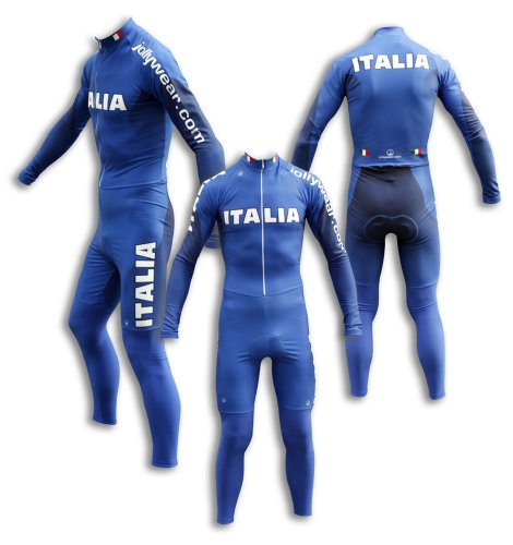 Buy Low Price JOLLYWEAR Cycling Thermal Skinsuit – long sleeves and tights (ITALY collection) (B002ZD6C6Q)