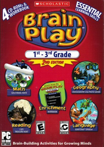Scholastic Brain Play 1st - 3rd Grade 2nd Edition Essential Learing