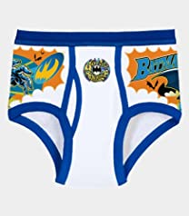 Fruit of the Loom Boys' 5pk Batman Brief