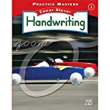 img - for Practice Masters, Grade 3 (Zaner-Bloser Handwriting) book / textbook / text book