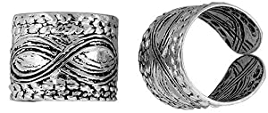 Sterling Silver Cuff Earring (one piece) 7/16 inch