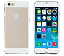 """buy Iphone 6 Case, Dandycase Glitter Shimmer *No Chip/No Peel* Flexible Slim Case Cover For Apple Iphone 6 (4.7"""" Screen) (White)"""