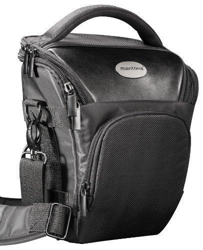 Pro Novo SLR-Borsa Colt Nero (con cintura ventrale fuer la fotocamera modelli fotocamera compatta, per esempio, vedere caratteristiche del prodotto