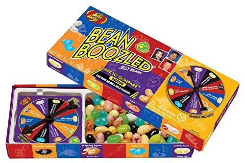 Jelly Belly 4th Edition Beanboozled Jelly Beans Spinner Gift Box, 3.5 oz (Jelly Boozled compare prices)