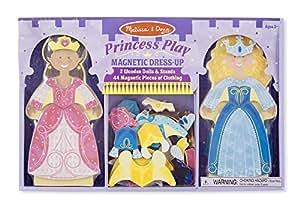 Melissa & Doug Melissa & Doug Princess Play Magnetic Dress Up Doll
