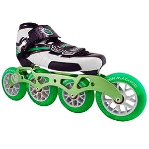 Vanilla Green Machine Inline Skates - Green Machine Inline Speed Skate by Vanilla