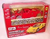 Maisto red enzo ferrari assembly kit car 1.24 scale diecast model