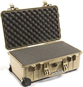Pelican 1510 Case with Foam for Camera (Desert Tan)