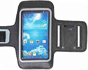 C&E CNE95912 Neo Armband Case Samsung Galaxy S4 - Non-Retail Packaging - Black