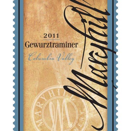 2011 Maryhill Winery Columbia Valley Gewürztraminer 750 Ml