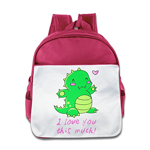 [TuSamLOO I Love You This Much Kid's Mini Backpack/Travel Bag Pink] (Victorias Secret Costume Ideas)