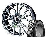 [235/55R20]GOODYEAR / ICE NAVI SUV スタッドレス [2/-][Weds / LEONIS LV (HSM2) 20インチ] スタッドレス&ホイール4本セット ムラーノ(Z51系)
