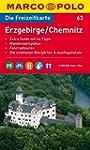 MARCO POLO Freizeitkarte Erzgebirge,...