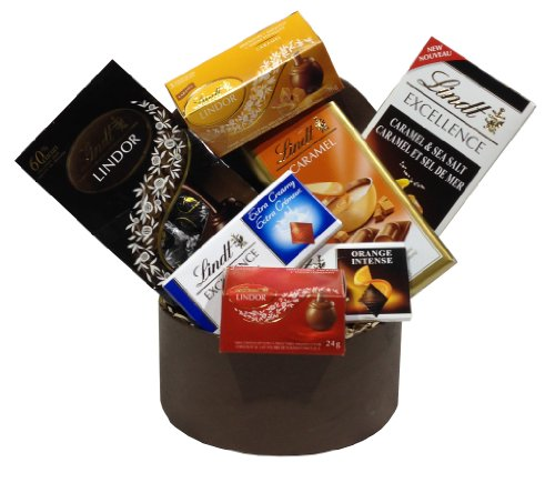 Choice Lindt Chocolate Gift Basket