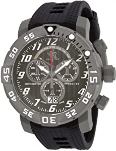 Invicta 17530 Men's Sea Base Titanium Black Polyurethane Watch