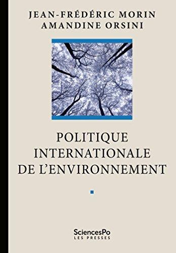 Politique internationale de l'environnement