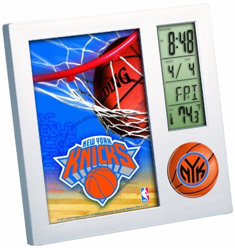 NBA New York Knicks Digital Desk Clock