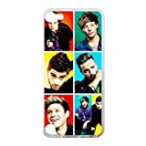 One Direction Apple iPod Touch 5th Case Cover Protecter - Retail Packaging - Laser Rubber