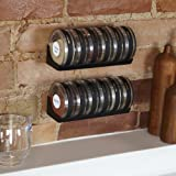 Umbra Cylindra Spice Rack, Black